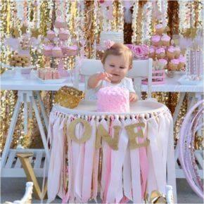 Оформление день рождения 1 год своими руками фото 43