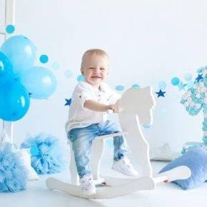 Оформление день рождения 1 год своими руками фото 61
