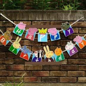 Детский день рождения свинка Пеппа фото 105