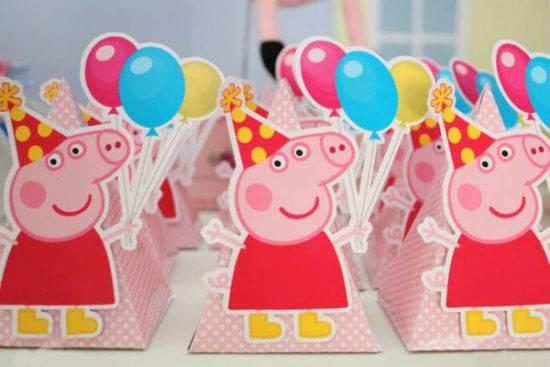 Детский день рождения свинка пеппа 112