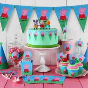 Детский день рождения свинка пеппа фото 121