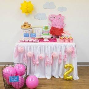 Детский день рождения свинка пеппа фото 123