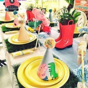 Детский день рождения свинка Пеппа фото 132
