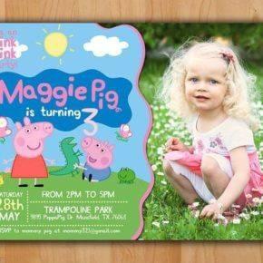 Детский день рождения свинка Пеппа фото 158