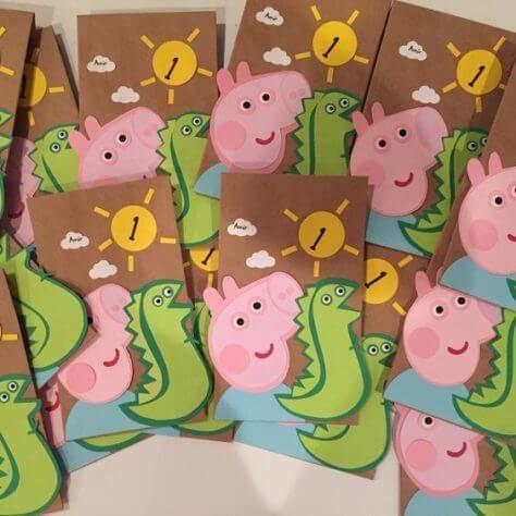 Детский день рождения свинка Пеппа фото 103