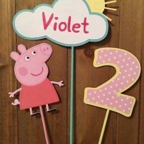 Детский день рождения свинка Пеппа фото 210