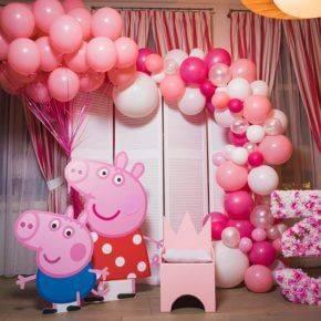 Детский день рождения свинка Пеппа фото 214