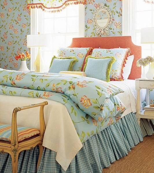 Спальня в стиле прованс фото 01