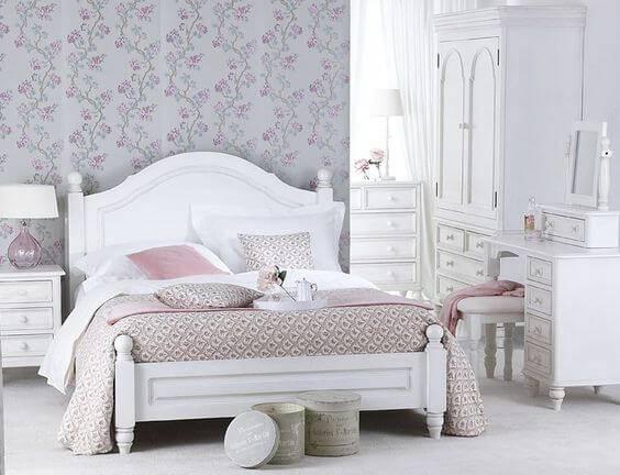 Спальня в стиле прованс фото 07