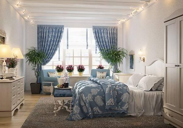 Спальня в стиле прованс фото 12