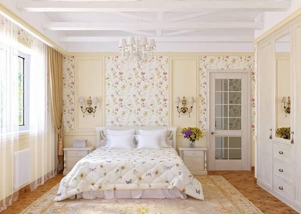 Спальня в стиле прованс фото 18