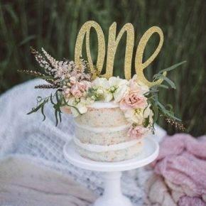 Торт на годик фото 25