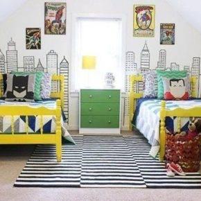 детская комната для двух мальчиков фото 012
