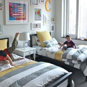 детская комната для двух мальчиков фото 020