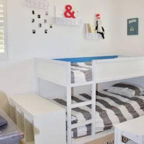 детская комната для двух мальчиков фото 031