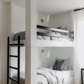 детская комната для двух мальчиков фото 038