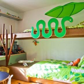 детская комната для двух мальчиков фото 041