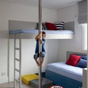 детская комната для двух мальчиков фото 042