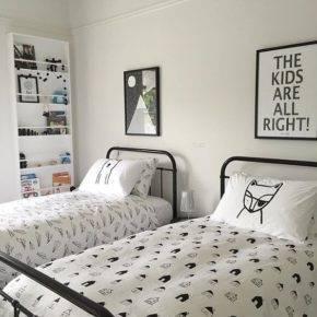 детская комната для двух мальчиков фото 043