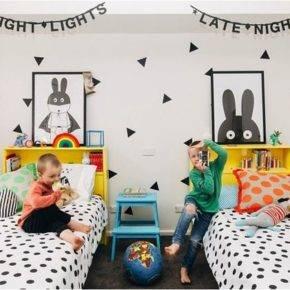 детская комната для двух мальчиков фото 044