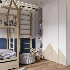 детская комната для двух мальчиков фото 052