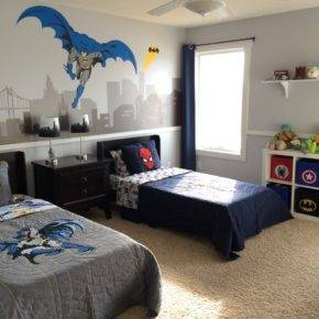 детская комната для двух мальчиков фото 055