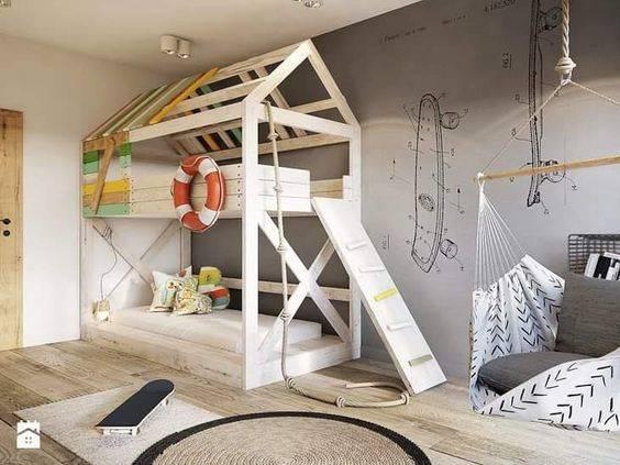 детская комната для двух мальчиков фото 057