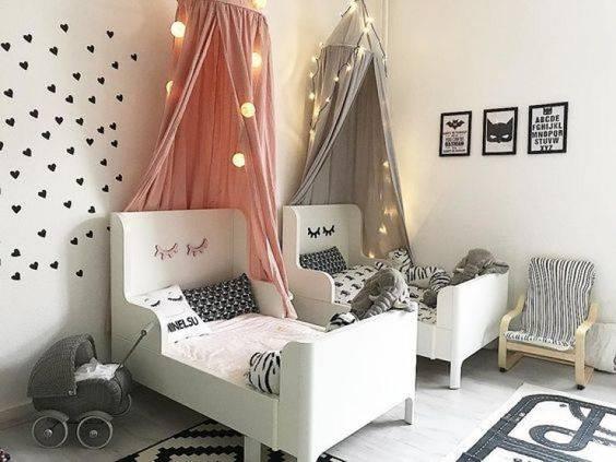 Детская для двух девочек ► Как оформить детскую комнату для 2 девочек