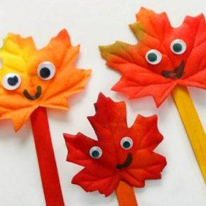 Осенние поделки в садик фото 36