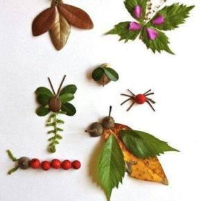 Осенние поделки в садик фото 46