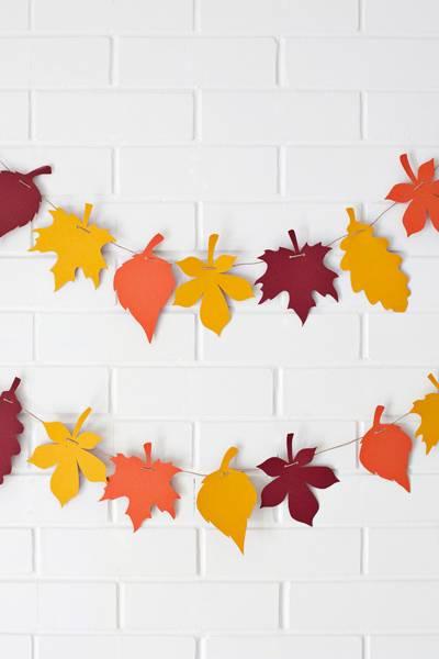 Осенний декор: осенные поделки из бумаги, топиарий, осенние венки
