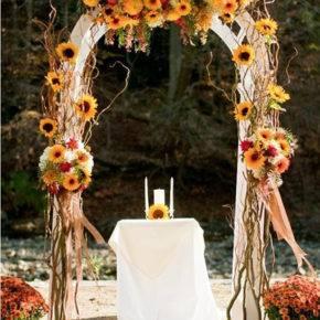 осенняя свадьба фото 05