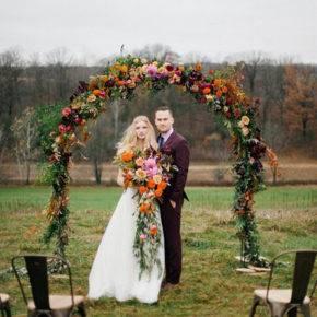 осенняя свадьба фото 09