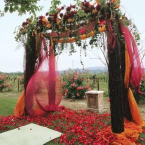 осенняя свадьба фото 11