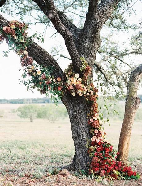 осенняя свадьба фото 13