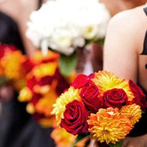 осенняя свадьба фото 14