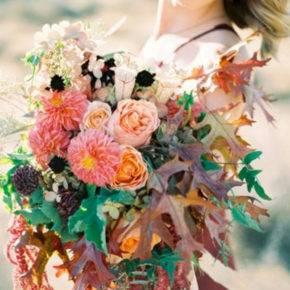 осенняя свадьба фото 15