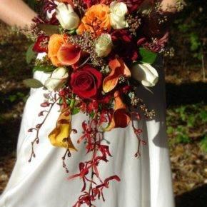 осенняя свадьба фото 16