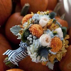 осенняя свадьба фото 19
