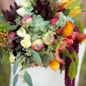 осенняя свадьба фото 23