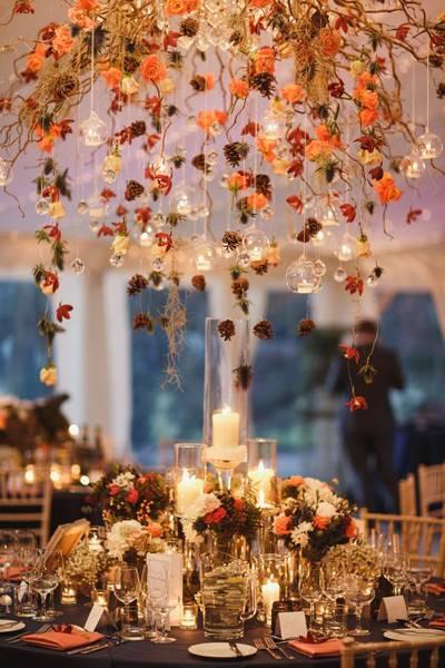 осенняя свадьба фото 31