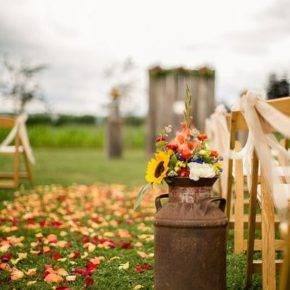 осенняя свадьба фото 32