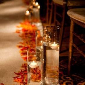 осенняя свадьба фото 34