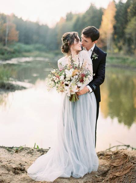 осенняя свадьба фото 58