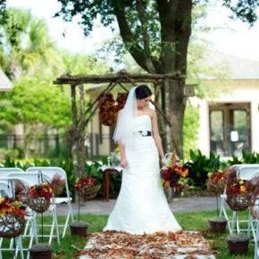 осенняя свадьба фото 63