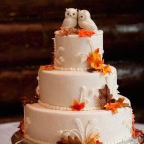 осенняя свадьба фото 82