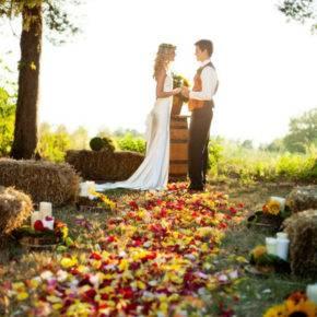 осенняя свадьба фото 91