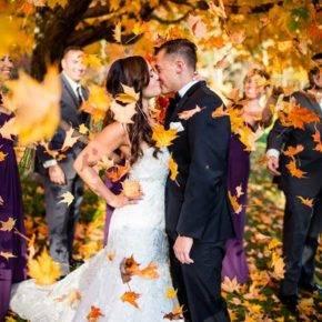 осенняя свадьба фото 93