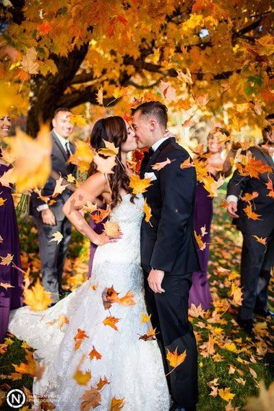 Осенняя свадьба: 85+ идей оформления с фото