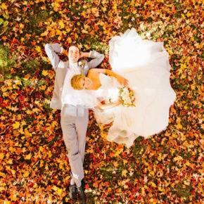 осенняя свадьба фото 94